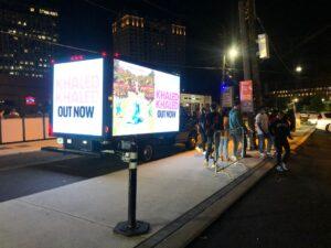 creative outdoor marketing methods digital mobile billboard